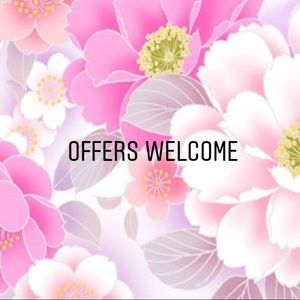 💗All offers are welcome💗